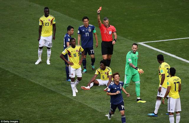 Chấm điểm ĐT Colombia 1-2 ĐT Nhật Bản: Tệ nhất Carlos Sanchez! - Ảnh 1.