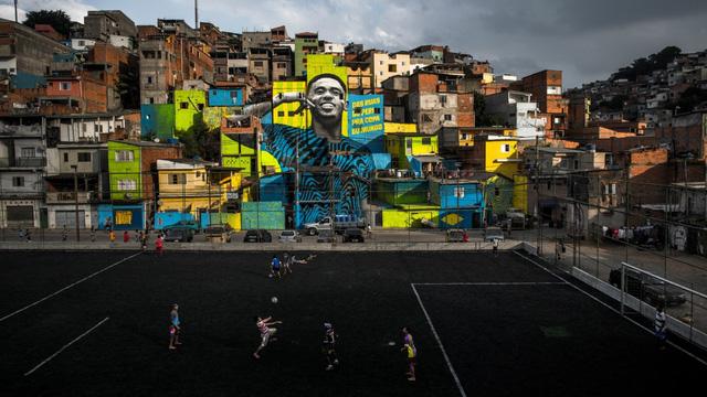 Gabriel Jesus: Bước từ vỉa hè Sao Paulo ra thảm cỏ Moscow - Ảnh 3.