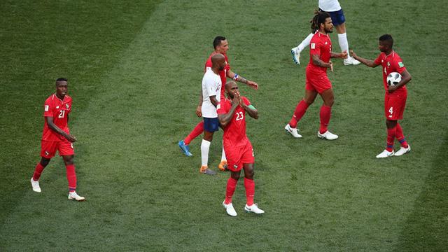 Phá lưới ĐT Anh, cầu thủ và CĐV Panama ăn mừng như thể vô địch FIFA World Cup™ - Ảnh 8.