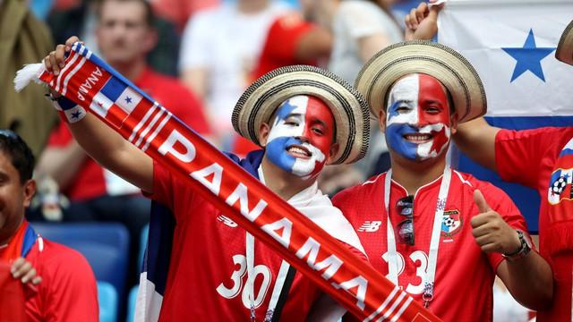Phá lưới ĐT Anh, cầu thủ và CĐV Panama ăn mừng như thể vô địch FIFA World Cup™ - Ảnh 1.