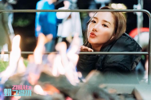 Park Min Young và Park Seo Joon tình bể tình trong hậu trường Thư ký Kim sao thế? - Ảnh 6.