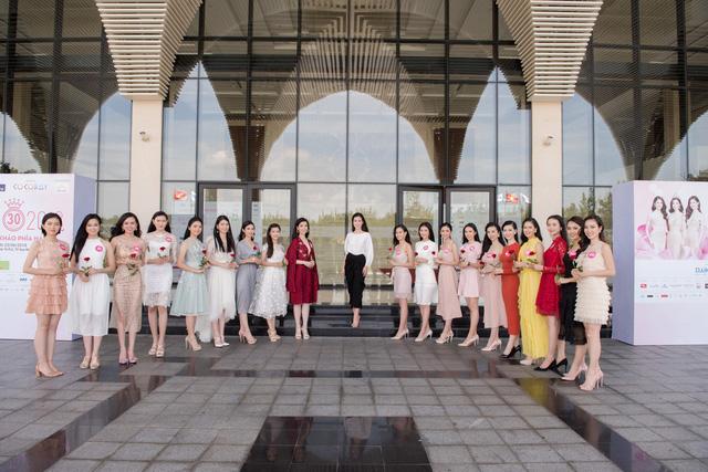 Hoa hậu Việt Nam 2018: Thí sinh lọt Chung kết bắt tay vào dự án nhân ái - Ảnh 1.