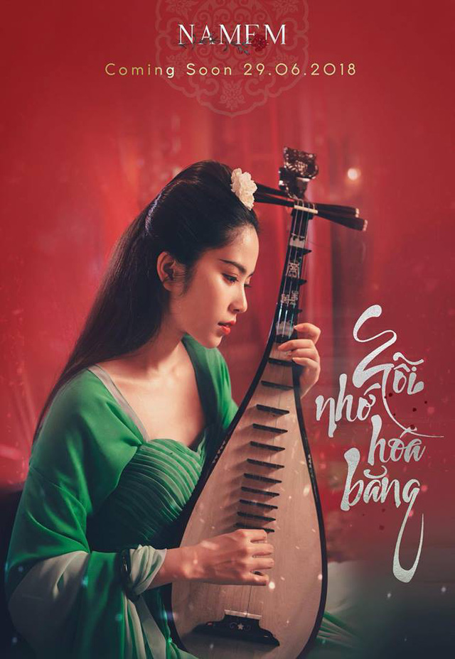 Nam Em ma mị với tạo hình Võ Tắc Thiên trong MV cổ trang Nỗi nhớ hóa băng - Ảnh 1.