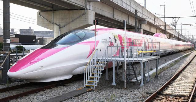 Khai trương đoàn tàu Hello Kitty tại Nhật Bản - Ảnh 2.