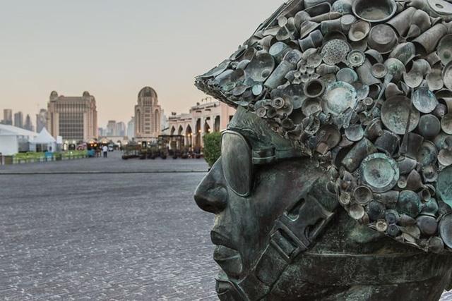 Tuyệt tác kiến trúc và nghệ thuật của Qatar bên bờ vịnh Doha - Ảnh 10.
