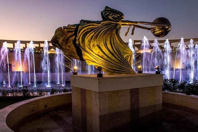 Tuyệt tác kiến trúc và nghệ thuật của Qatar bên bờ vịnh Doha - Ảnh 11.