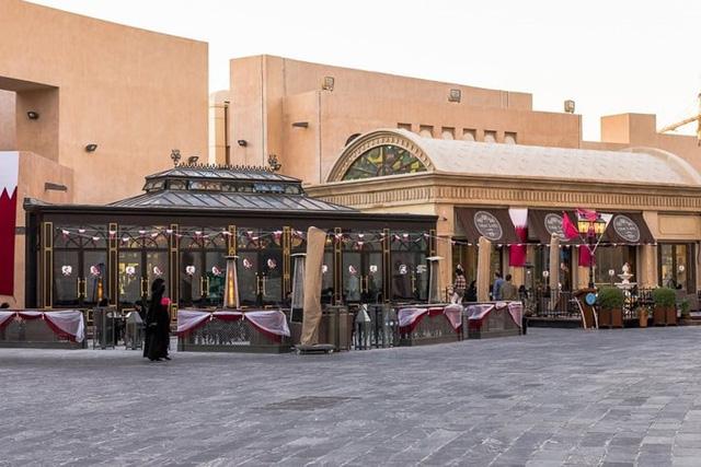 Tuyệt tác kiến trúc và nghệ thuật của Qatar bên bờ vịnh Doha - Ảnh 12.