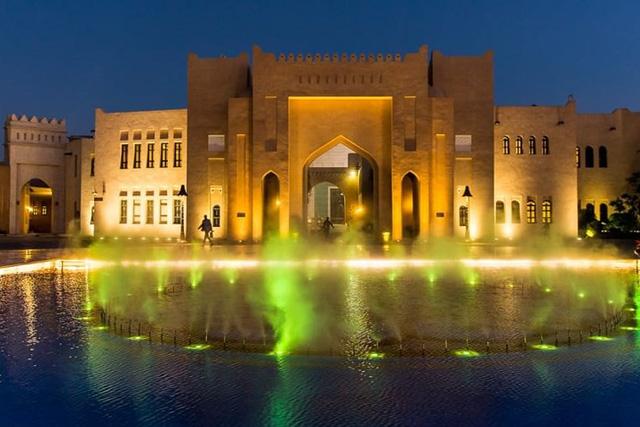 Tuyệt tác kiến trúc và nghệ thuật của Qatar bên bờ vịnh Doha - Ảnh 14.