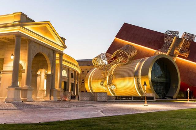 Tuyệt tác kiến trúc và nghệ thuật của Qatar bên bờ vịnh Doha - Ảnh 1.