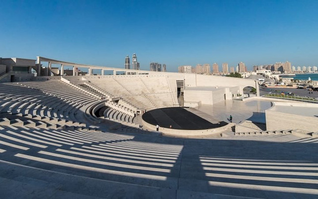 Tuyệt tác kiến trúc và nghệ thuật của Qatar bên bờ vịnh Doha - Ảnh 2.