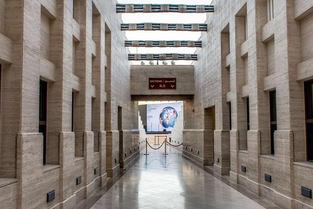Tuyệt tác kiến trúc và nghệ thuật của Qatar bên bờ vịnh Doha - Ảnh 3.