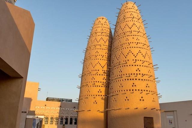 Tuyệt tác kiến trúc và nghệ thuật của Qatar bên bờ vịnh Doha - Ảnh 7.