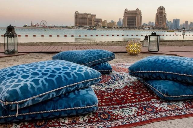 Tuyệt tác kiến trúc và nghệ thuật của Qatar bên bờ vịnh Doha - Ảnh 9.