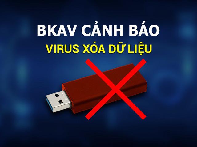 Cảnh báo virus nguy hiểm xóa dữ liệu trên USB, lây nhiễm 1,2 triệu máy tính - Ảnh 1.