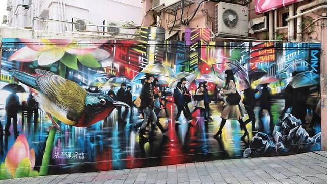 Con phố nghệ thuật ở Hong Kong (Trung Quốc) - Ảnh 11.