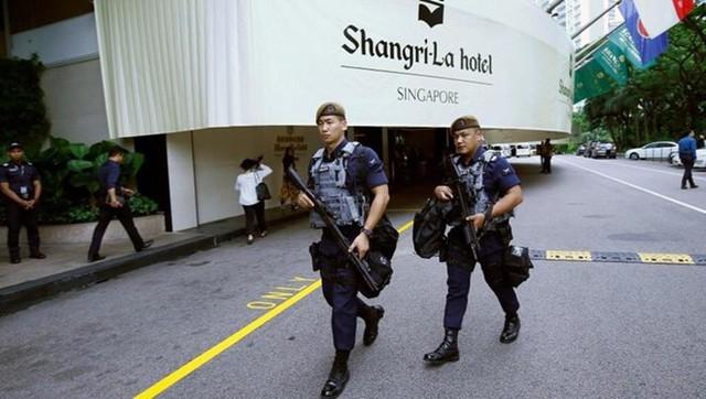 Hệ thống an ninh nghiêm ngặt bảo vệ hội nghị thượng đỉnh Mỹ - Triều - Ảnh 1.