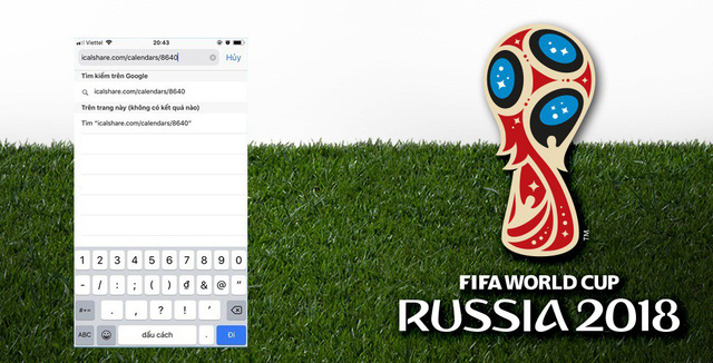Làm điều này, bạn sẽ không 1 trận đấu nào của World Cup 2018 - Ảnh 1.