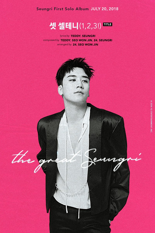 Seung Ri (Big Bang) công bố ngày phát hành album solo - Ảnh 2.