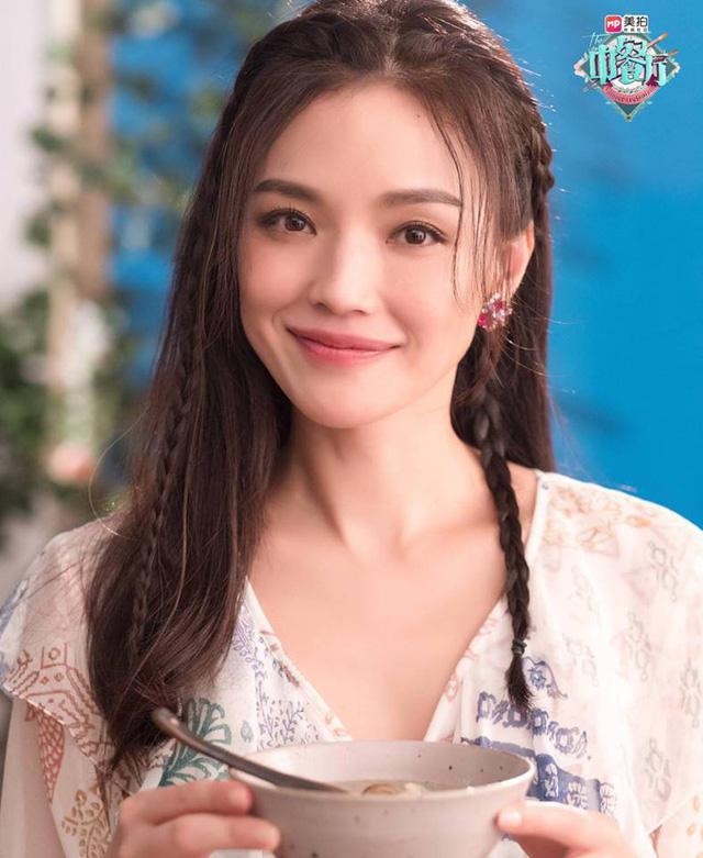 Thư Kỳ siêu ngọt ngào bên Triệu Vy và Tô Hữu Bằng - Ảnh 9.