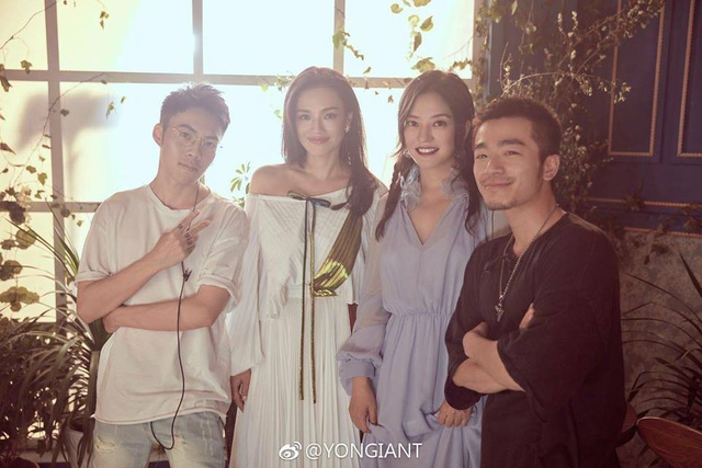 Thư Kỳ siêu ngọt ngào bên Triệu Vy và Tô Hữu Bằng - Ảnh 12.