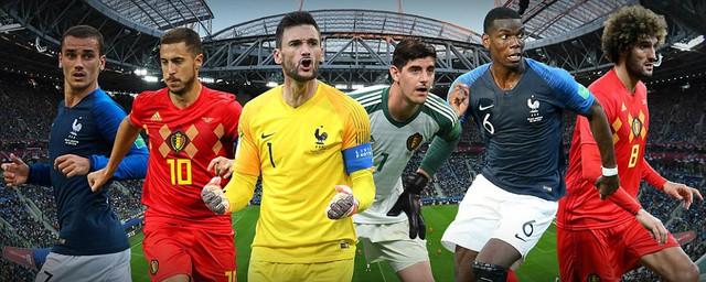 Lịch thi đấu và tường thuật trực tiếp bán kết World Cup 2018 hôm nay: ĐT Pháp - ĐT Bỉ - Ảnh 1.