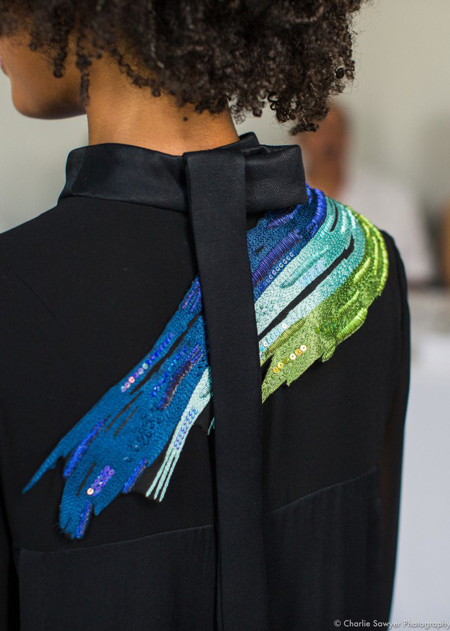 Thời trang từ túi đựng cà phê - Ảnh 2.