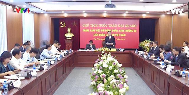 Chủ tịch nước làm việc với Liên đoàn Luật sư Việt Nam - Ảnh 1.