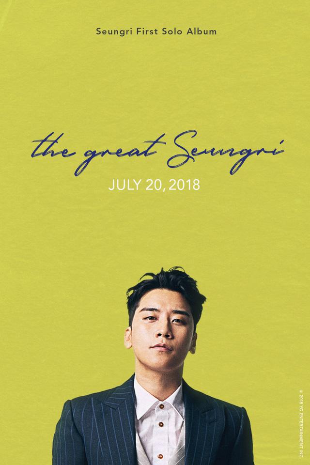 Seung Ri (Big Bang) công bố ngày phát hành album solo - Ảnh 3.
