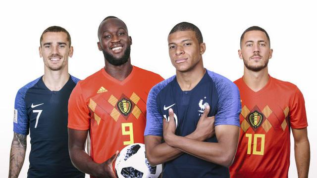 Bán kết World Cup 2018, ĐT Pháp - ĐT Bỉ: Màn so tài giữa những người đồng đội - Ảnh 2.