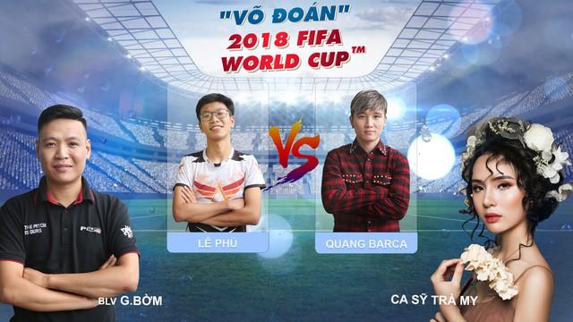TRỰC TIẾP Bán kết World Cup: Pháp - Bỉ cùng Võ đoán 2018 FIFA World Cup™ - Ảnh 1.