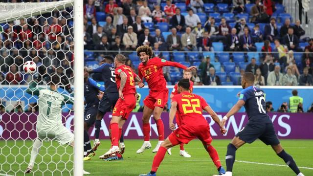 Chấm điểm Pháp 1-0 Bỉ: Giroud vô duyên nhưng đã có Umtiti, Pogba, Mbappe! - Ảnh 7.
