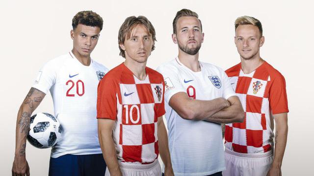 Bán kết World Cup 2018, Croatia – Anh: Lịch sử sẽ gọi tên ai?! (1h00 ngày 12/7 trực tiếp trên kênh VTV3) - Ảnh 1.