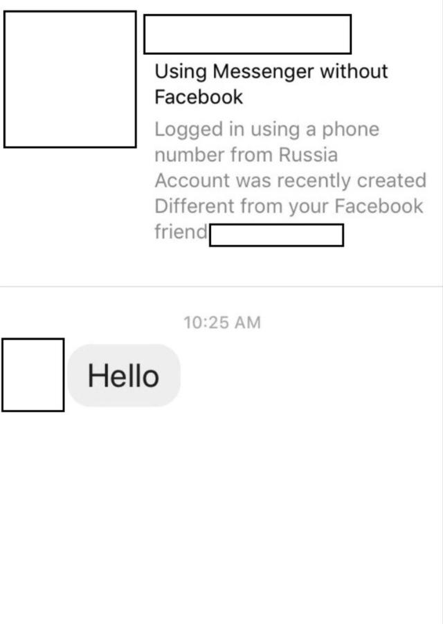 Facebook thử nghiệm tính năng cảnh báo tin nhắn lừa đảo - Ảnh 1.