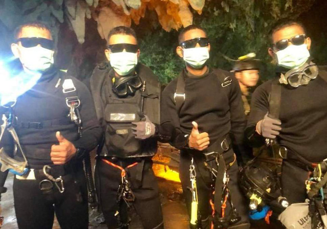 Hành trình giải cứu đội bóng Thái Lan: Chúng tôi đã thoát chết trong gang tấc - Ảnh 3.