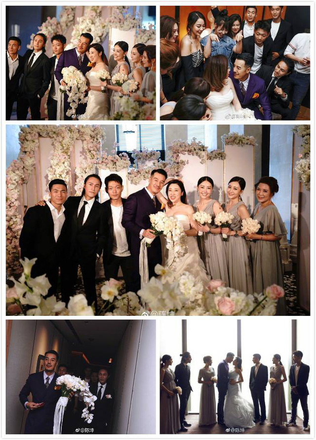 Trần Khôn bảnh bao làm phù rể trong đám cưới sao phim Hoàng Quyền: Dịch thiên hạ - Ảnh 11.