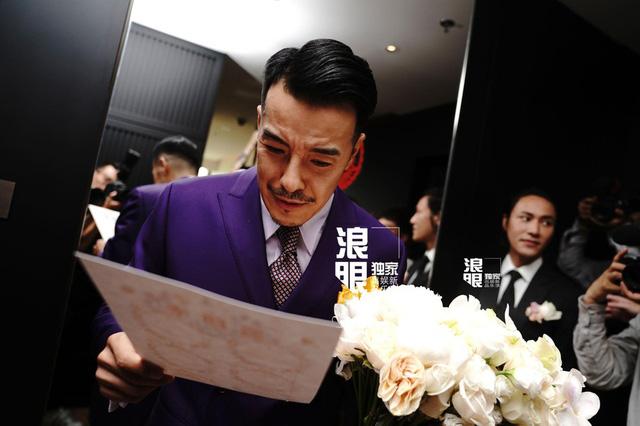 Trần Khôn bảnh bao làm phù rể trong đám cưới sao phim Hoàng Quyền: Dịch thiên hạ - Ảnh 6.