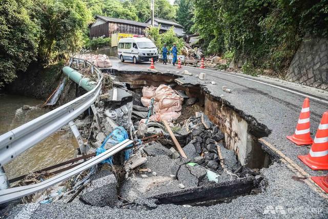 199 người thiệt mạng trong đợt mưa lũ tại Nhật Bản - Ảnh 4.