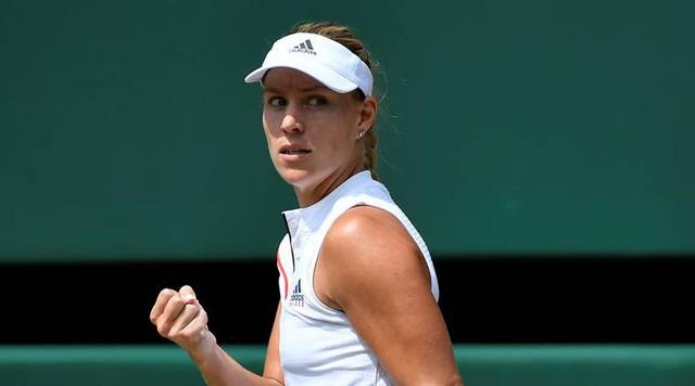 Wimbledon 2018: Vượt qua Ostapenko, Kerber giành quyền vào chung kết - Ảnh 3.
