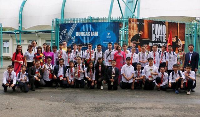 Đội tuyển thi Toán học Quốc tế BIMC 2018 thắng lớn rạng rỡ trở về - Ảnh 3.