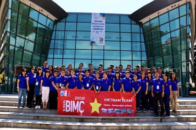 Đội tuyển thi Toán học Quốc tế BIMC 2018 thắng lớn rạng rỡ trở về - Ảnh 4.