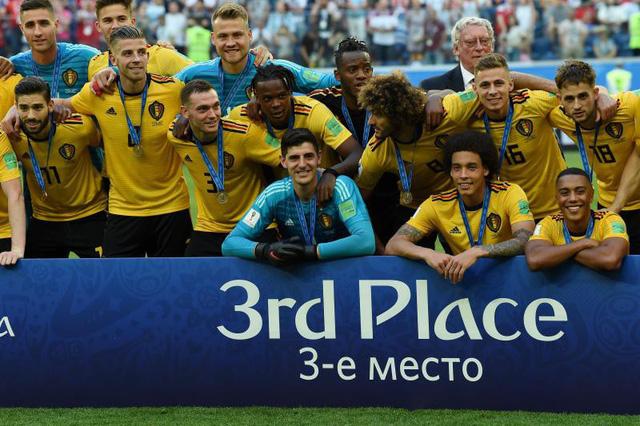 Người Bỉ tự hào với Huy chương Đồng World Cup 2018 - Ảnh 1.