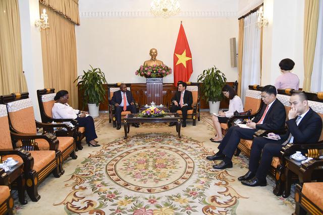 Việt Nam coi trọng phát triển quan hệ với Mozambique - Ảnh 1.