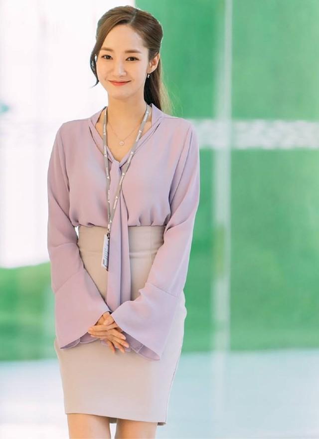 Nhờ Thư ký Kim sao thế?, Park Min-young được ví như biểu tượng thời trang mới - Ảnh 3.