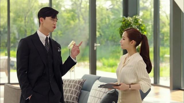 Nhờ Thư ký Kim sao thế?, Park Min-young được ví như biểu tượng thời trang mới - Ảnh 1.