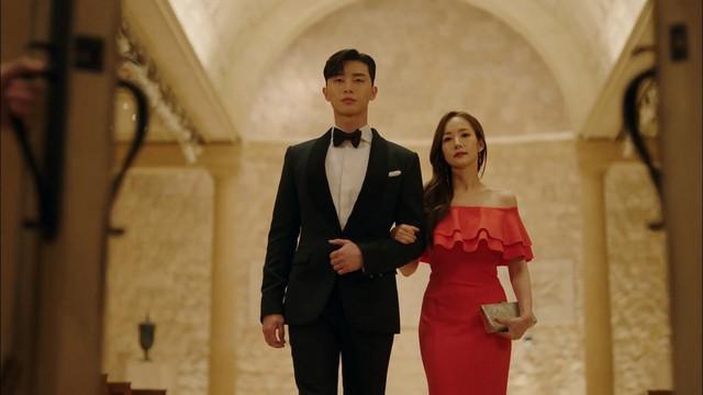 Nhờ Thư ký Kim sao thế?, Park Min-young được ví như biểu tượng thời trang mới - Ảnh 7.