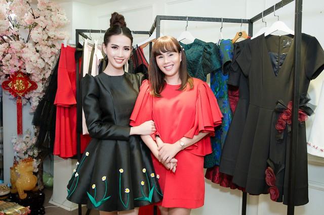 Phan Thị Mơ khoe trang phục thi hoa hậu của NTK Brian Võ, Hằng Nguyễn - Ảnh 2.