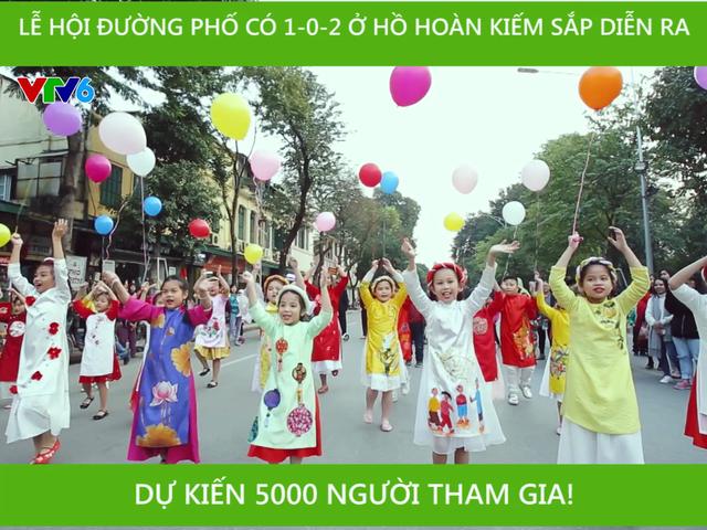 5.000 người tham gia lễ hội đường phố có 1-0-2 ở Hồ Hoàn Kiếm - Ảnh 3.
