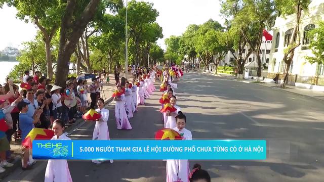 5.000 người tham gia lễ hội đường phố có 1-0-2 ở Hồ Hoàn Kiếm - Ảnh 2.