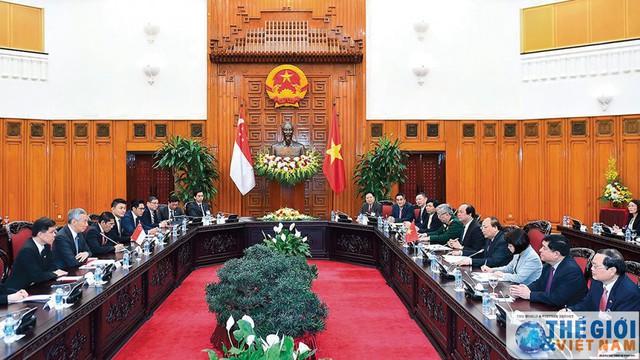 Singapore - Việt Nam: Nhiều tiềm năng phát triển quan hệ Đối tác Chiến lược - Ảnh 1.