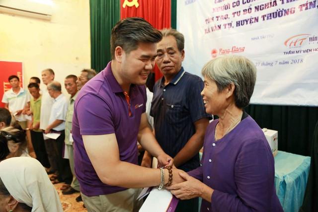 Quỹ Tấm lòng Việt và hoạt động ý nghĩa nhân ngày Thương binh liệt sĩ - Ảnh 4.